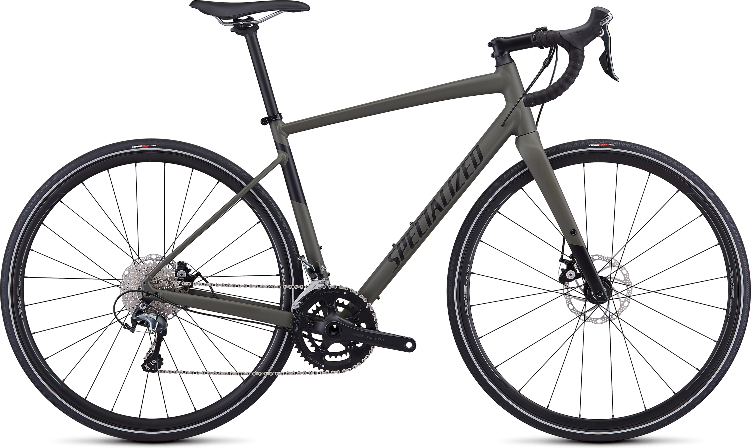 2019 Specialized Diverge E5 Elite Mens Gravel bike in Green